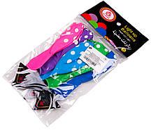"""Шарики воздушные светящиеся LED """"Горох"""" (5шт.) цветные"""