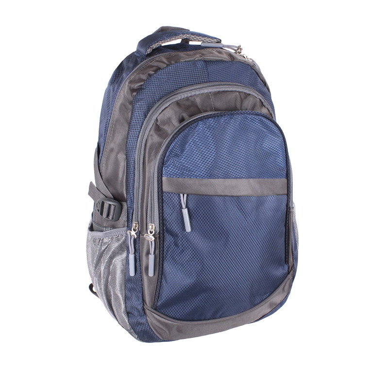 Рюкзак текстильный городской 1-2350 синий