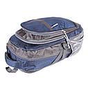 Рюкзак текстильный городской 1-2350 синий, фото 4