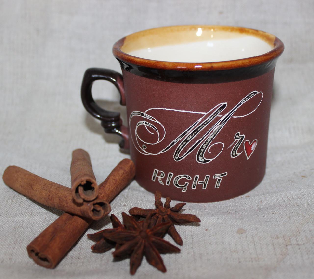 Чашка керамическая Идеальный мужчина»