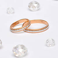 Золотые Обручальные кольца 76013