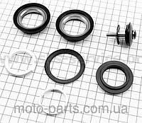 """Рулевые чашки 1"""" резьбовой вилки, сепараторные подшипники к-кт, черные SF-HP02"""