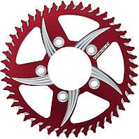 Звезда алюминиевая задняя Vortex 520/52 зубца, красный