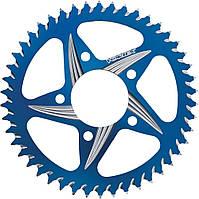 Звезда алюминиевая задняя Vortex 520/54 зубца, синий