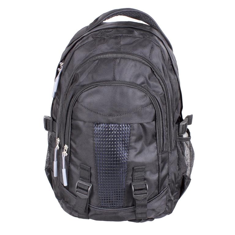 Рюкзак текстильный городской 1-3808 черный