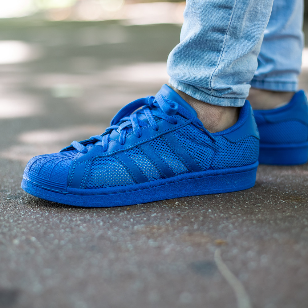 Кроссовки Аdidas Originals Superstar Blue B42619 (Оригинал)