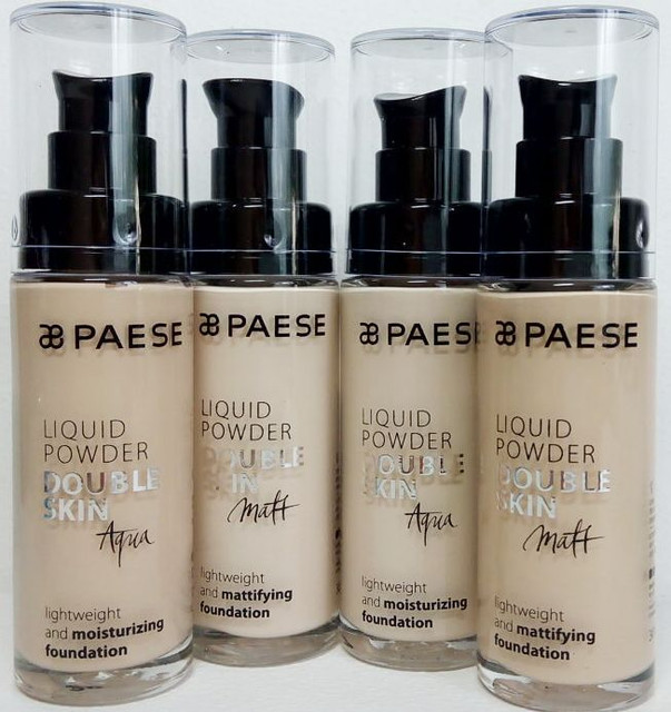 Тональный крем Liquid Powder Double Skin Paese