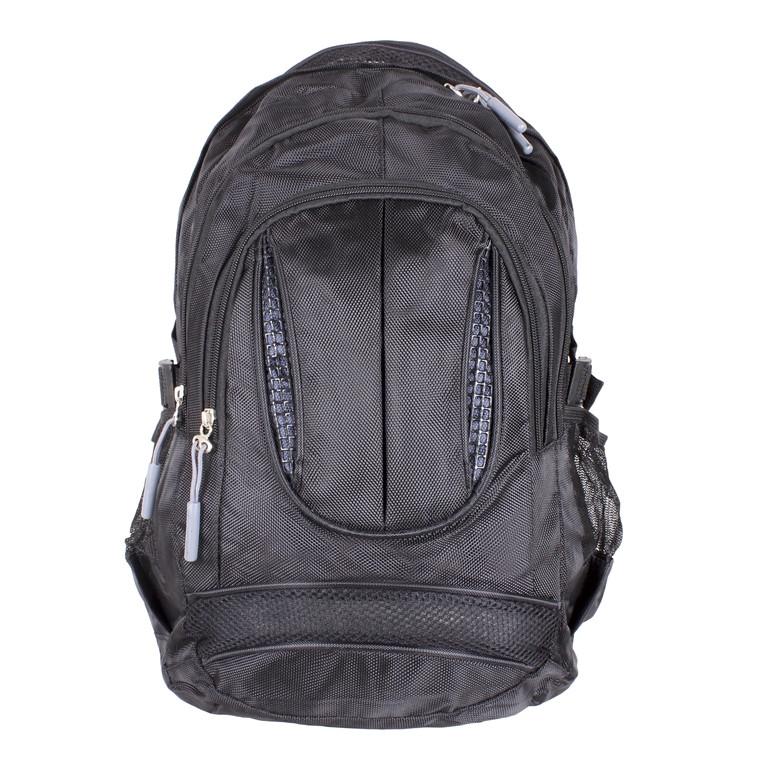 Рюкзак текстильный городской 1-3830 черный