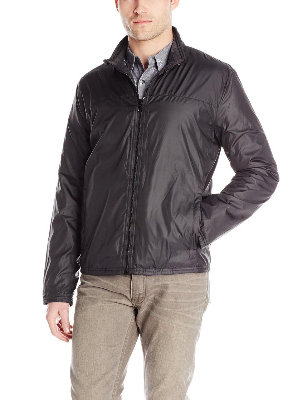 Куртка Kenneth Cole Reaction Reversible, M, Black/Charcoal, 443MP128