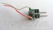 LED драйвер 1-3x3Вт 600мА 3-10В, 6Вт, питание 12-16В AC/DC