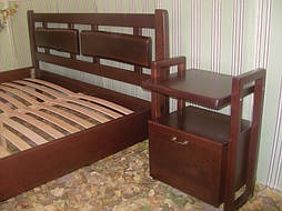 """Деревянная кровать """"Магия Дерева"""". Массив - сосна, ольха. 4"""