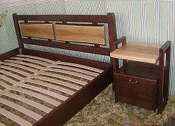 """Деревянная кровать """"Магия Дерева"""". Массив - сосна, ольха. 2"""