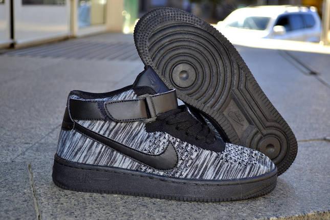 Nike Air Max Flyknit, черные Аир Макс, фото 2