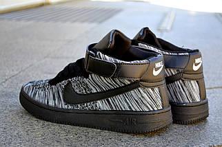 Nike Air Max Flyknit, черные Аир Макс, фото 3