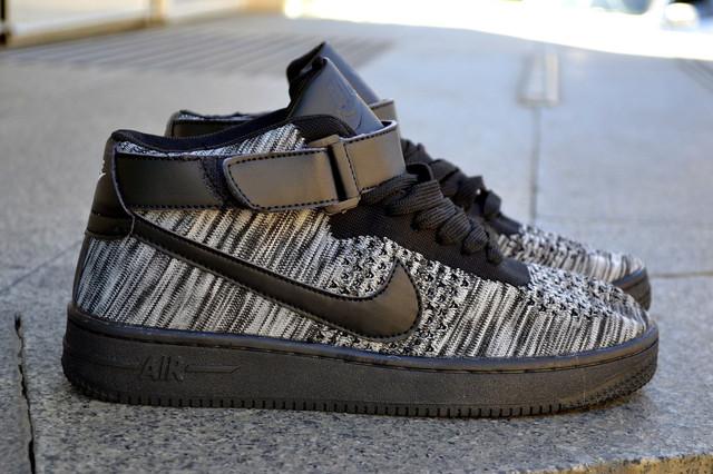 Nike Air Max Flyknit черные