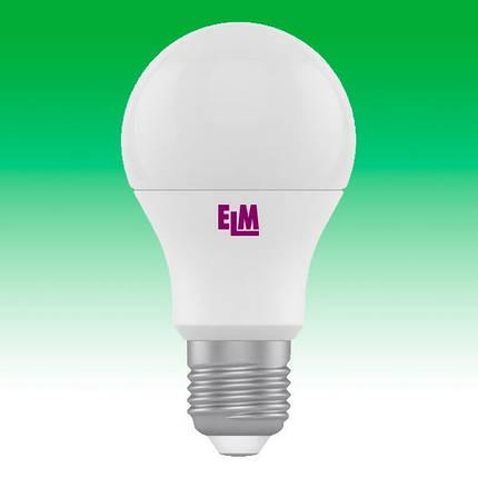 Светодиодная лампа LED 7W 4000K E27 ELM B60 (18-0023), фото 2