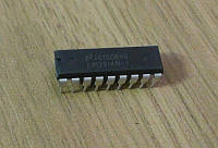 Микросхема LM3914 DIP18 - драйвер светодиодного столбика