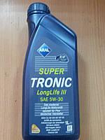 Моторное масло Aral Super Tronic Longlife III 5w-30 (VW 504.00, 507.00) 1L - производства Германии