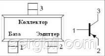 Транзистор біполярний BC857B - SOT23, p-n-p, 45В, 100мА