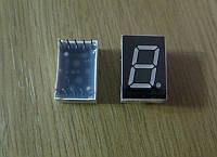 Семисегментный светодиодный индикатор 1разряд 0,56', красный, общ. анод.