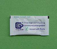 Теплопроводящая паста GD100 (1,094W/m*K) в пакетике 0,5г