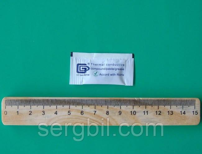 Теплопроводящая паста GD460 пакетик 0,5г термопаста 2,0Вт/(м*К)