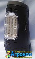 Фонарь поисковый, многофункциональный, аккумуляторный, гал/25W+24Led+3Led, Stern