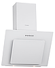 Pyramida NR 60 white (600 мм.) наклонная кухонная вытяжка, белое стекло