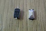 Кнопка без фиксации 3 х 6 х 2.5 мм, для мобильных устройств (телеф, брелки, МР3, МР4...), фото 3