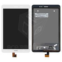 Дисплей для планшетов Huawei MediaPad T1 8.0 (S8-701u), MediaPad T1 8.0 LTE T1-821L,белый, с cенсорным экраном