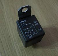 Реле автомобильное 5-ти контактное переключающее 30А, 12В.