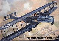 Самолет Zeppelin Staaken R.VI [Aviatik R52/17] 1/72 RODEN 050