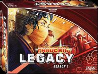 Пандемия: Наследие красная коробка  Pandemic Legacy 12+ 2-4 игроков