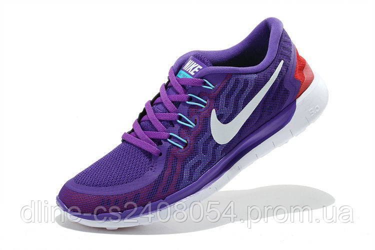 Nike Free Run 5.0 2015 Фиолетовые