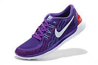 Nike Free Run 5.0 2015 Фиолетовые, фото 1