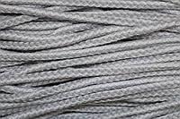 Шнур акрил 8мм (100м) св.серый+белый, фото 1