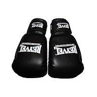Боксерские перчатки Reyvel Black Винил