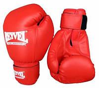 Боксерские перчатки Reyvel Red Винил