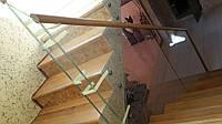 Стеклянный перила для лестниц