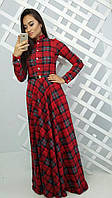 Женское модное платье в пол (3 цвета), фото 1