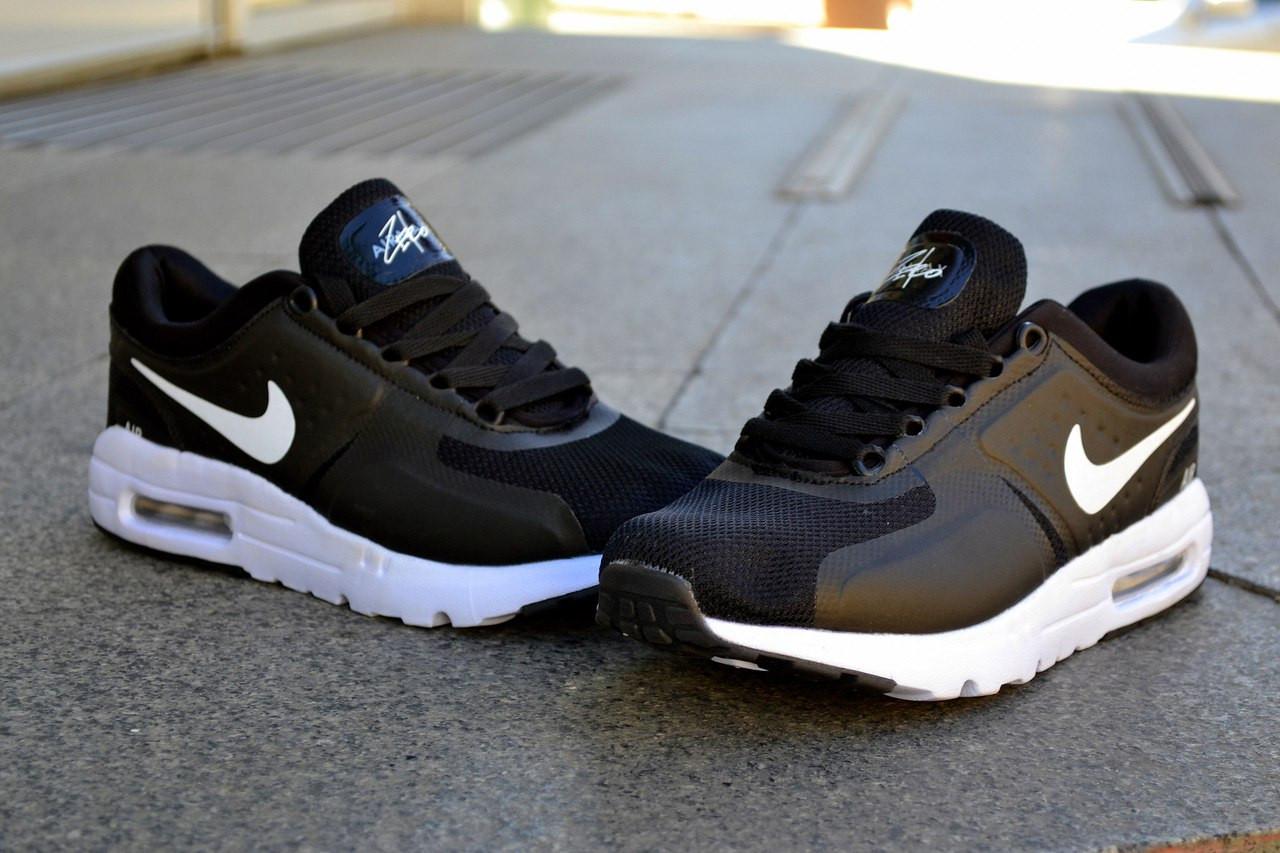 Кроссовки Nike Air Max Zero, черные, магазин обуви