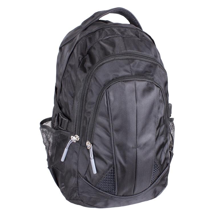 Рюкзак текстильный городской 1-3837 черный