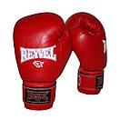 Боксерские перчатки Reyvel винил 14oz. , фото 2