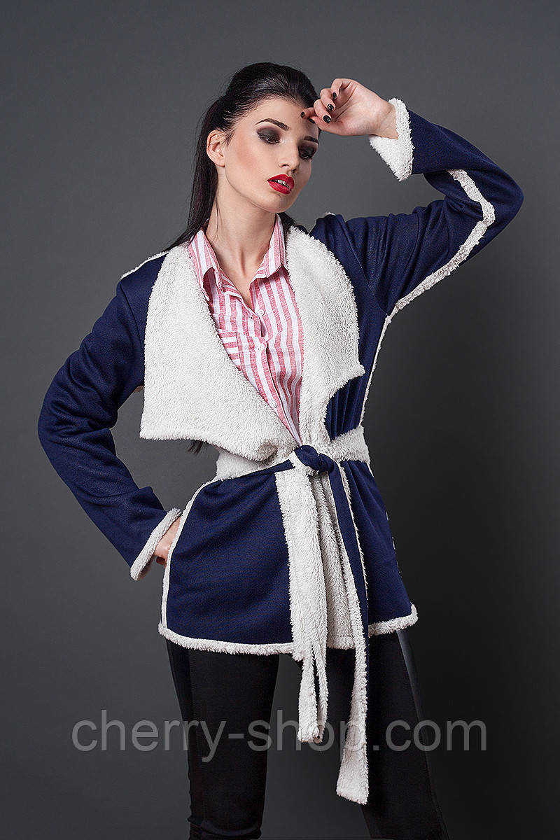 Молодежная куртка-кардиган
