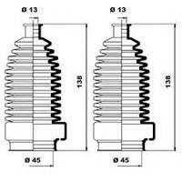 GB 62-5046 = SW 30919414 Пыльник рулевой рейки