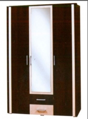 Шкаф 3Д Элегия  (Світ мебелів) 1375х550х2057мм