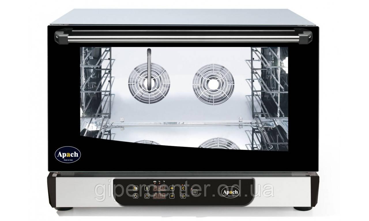 Конвекционная печь Apach AD46DI ECO с электронным управлением (4 уровня 600х400 мм или GN 1/1)