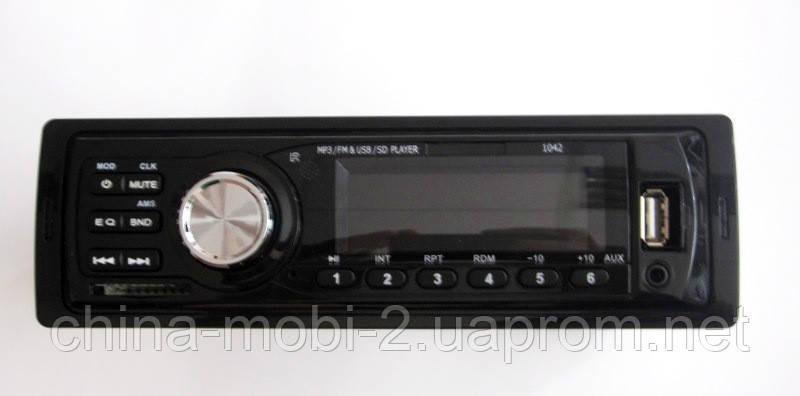 Автомагнитола Pioneer 1042 MP3 SD USB AUX FM