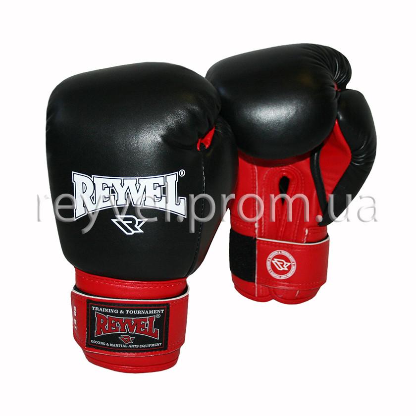 Боксерские перчатки Reyvel комбинированные 10oz.