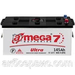 Акумулятор автомобільний A-mega 6СТ-145 Аз Ultra